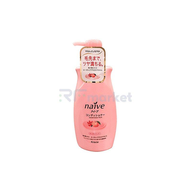 Kracie Кондиционер для волос с экстрактом персика - Peach extract hair conditioner, 550мл