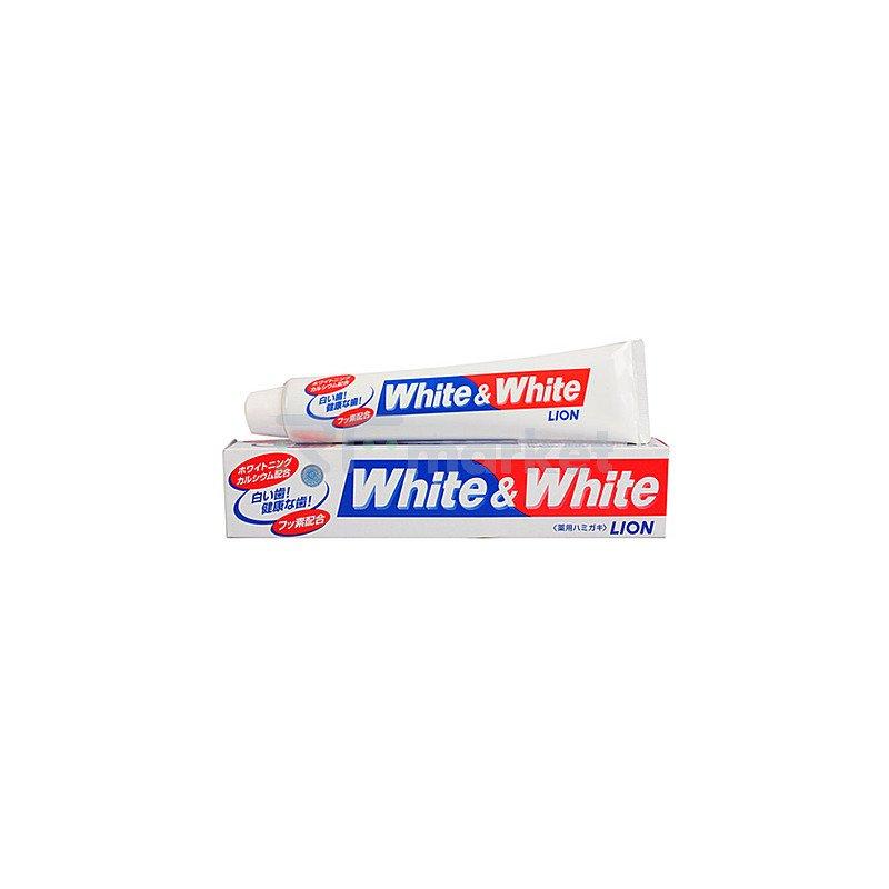 Lion Зубная паста - White & White, 150г
