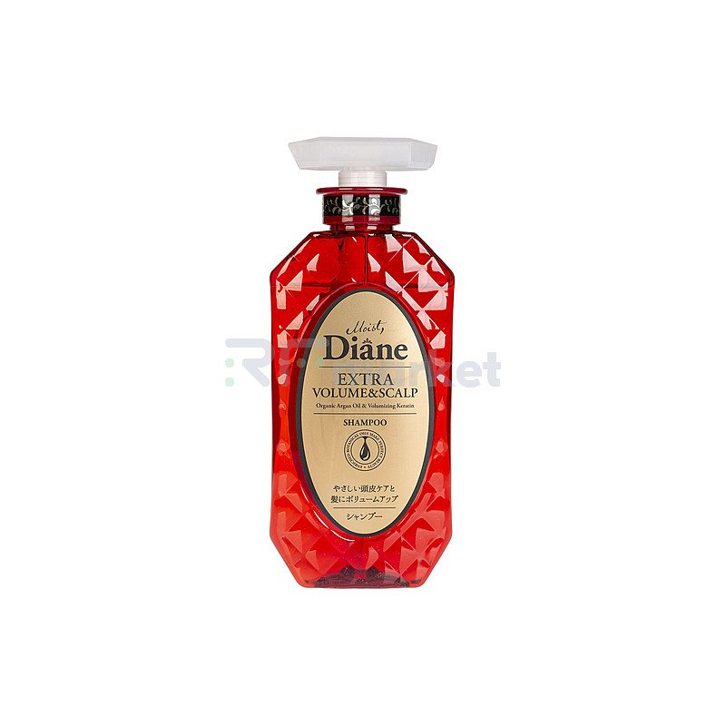 Moist Diane Шампунь кератиновый объем - Keratin shampoo volume, 450мл