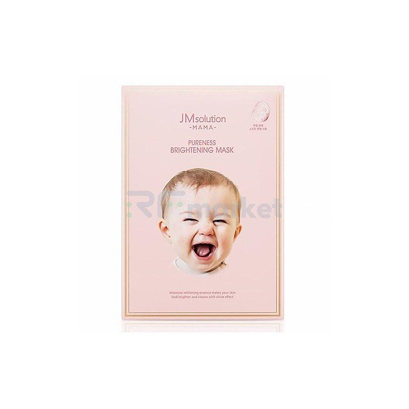 JMsolution Маска тканевая для сияния кожи - MAMA Pureness brightening mask, 30мл