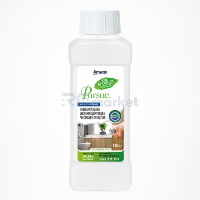 Pursue. Универсальное дезинфицирующее чистящее средство для поверхностей, Amway, 500 мл