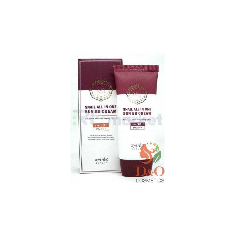 ENL SNAIL Крем ББ для лица улиточный  Snail All In One Sun BB Cream #23 Natural Beige,  50мл.«Beautynet Korea Co.Ltd»
