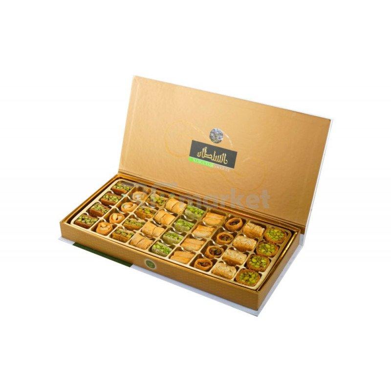Арабская пахлава Микс Sultan Premium подарочная коробка