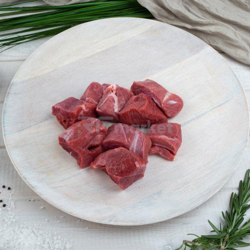 Филейный край говяжий, фермерский, 1 - 1,2 кг