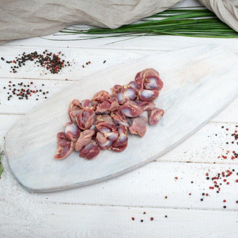 Желудки куриные, фермерские, 600 - 700 гр