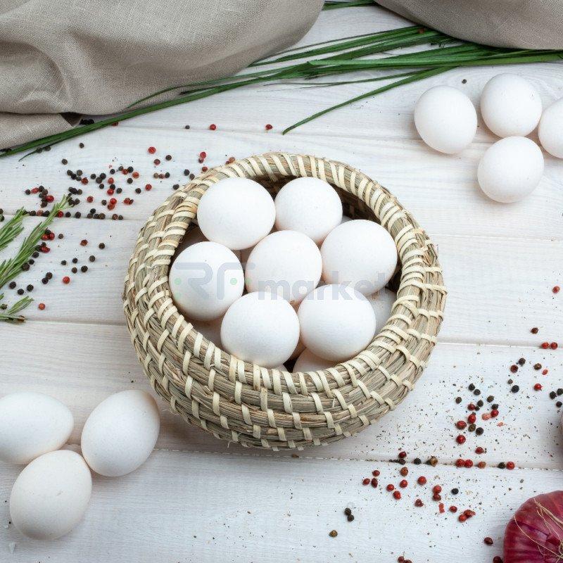 Яйца куриные, фермерские, 10 шт.