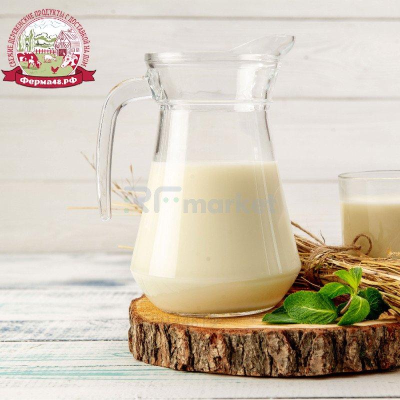 Натуральное коровье молоко, фермерское, 500 мл