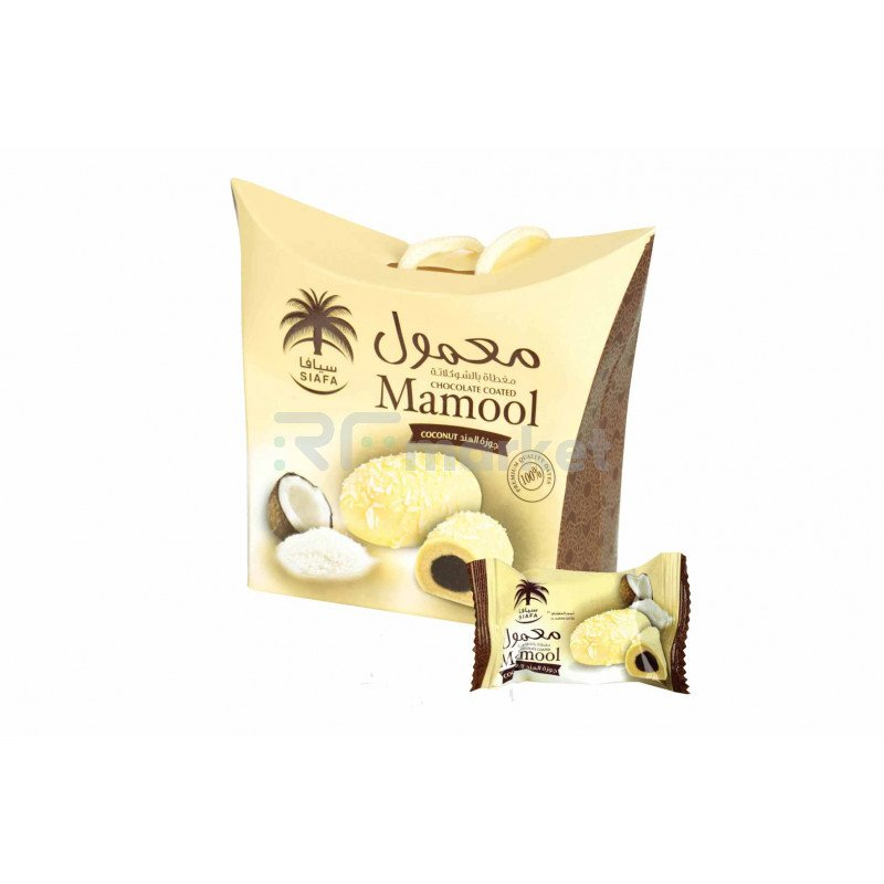 Печенье Мамуль с кокосом Siafa, 115г
