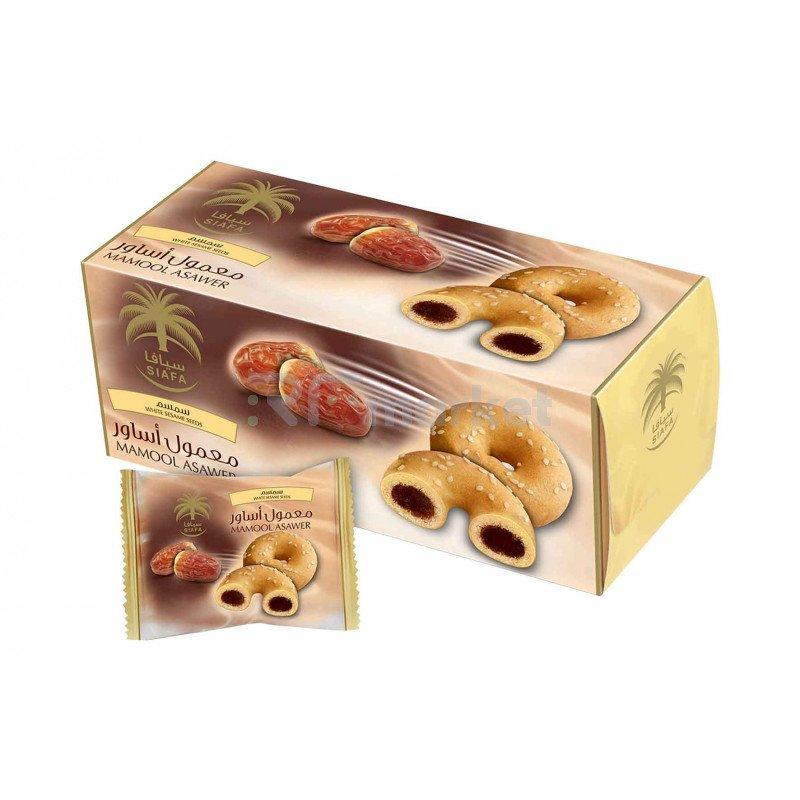 Печенье Асавер с кунжутом Siafa, 200г