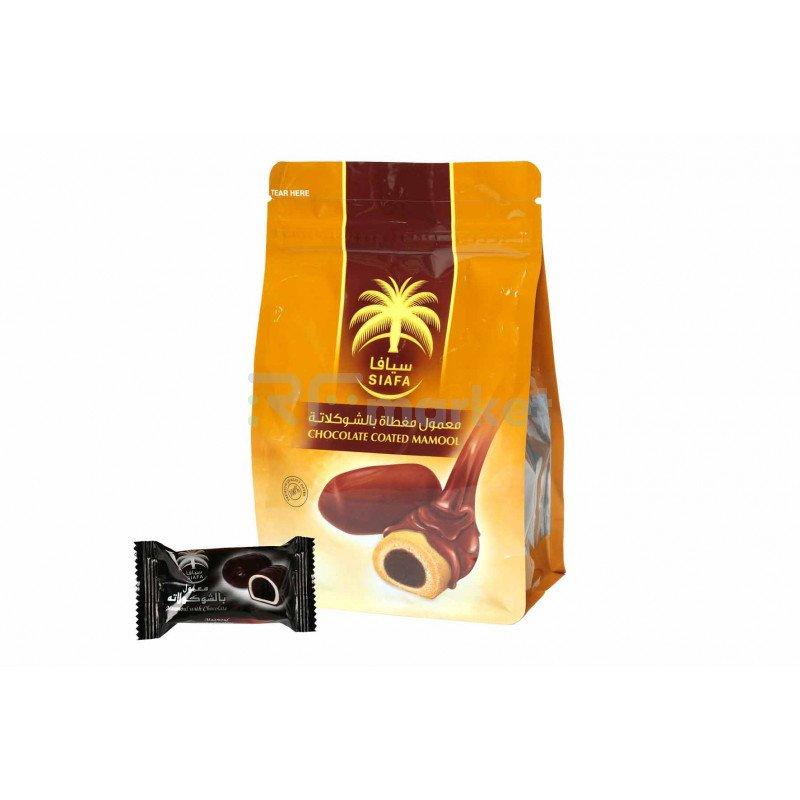 Печенье Мамуль в темном шоколаде Siafa, 210 гр