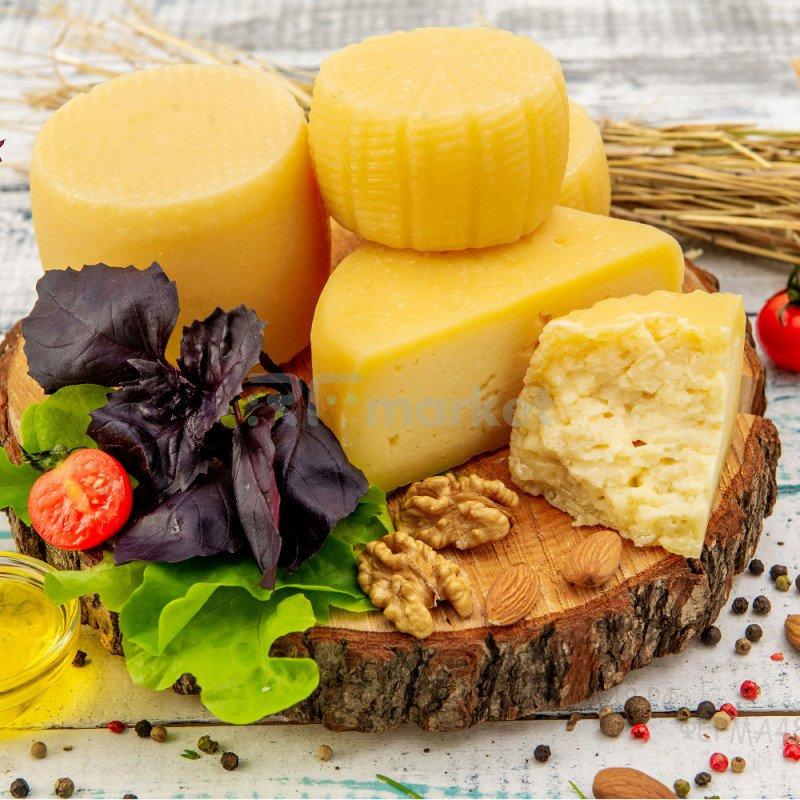 Сыр Качотта из коровьего молока с грецким орехом, фермерский, 500 гр