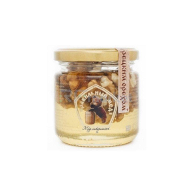 Мёд с Грецкими орехами, 250 гр.
