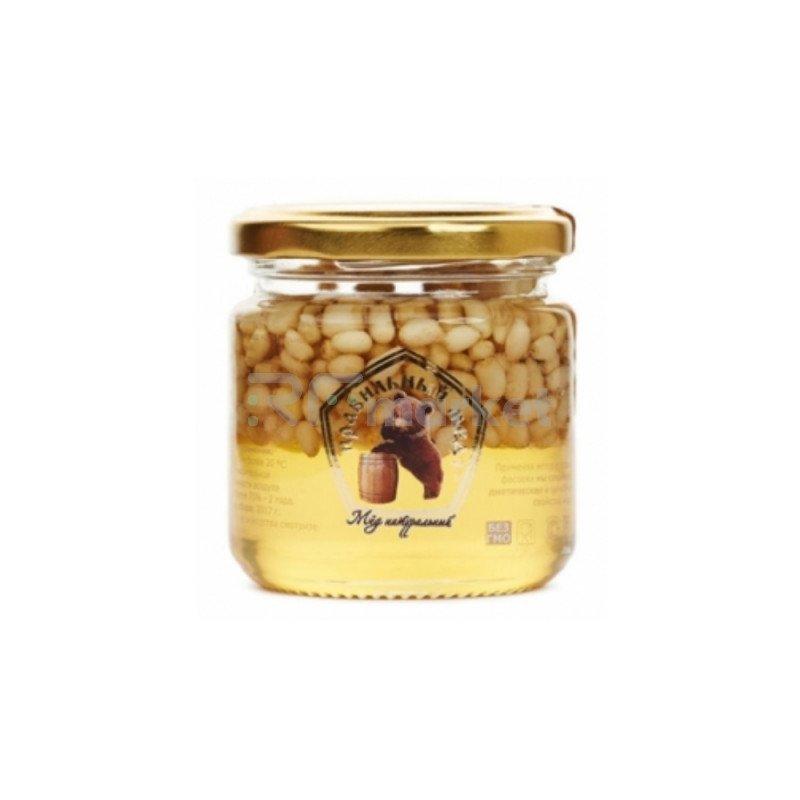 Мёд с Кедровым орехом, 250 гр.