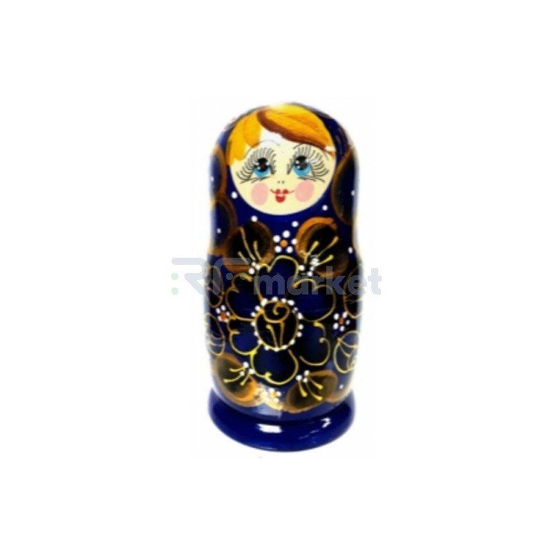 Подарочная упаковка №7, Матрёшка с баночкой мёда, 350 гр.