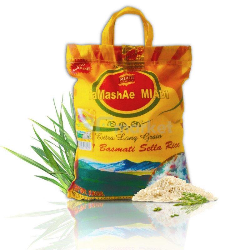 Рис индийский Басмати Тamashae Мiadi, 5 кг