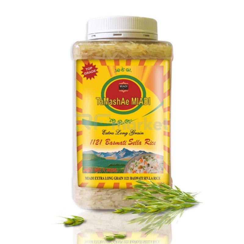 Рис индийский Басмати Тamashae Мiadi, 1 кг