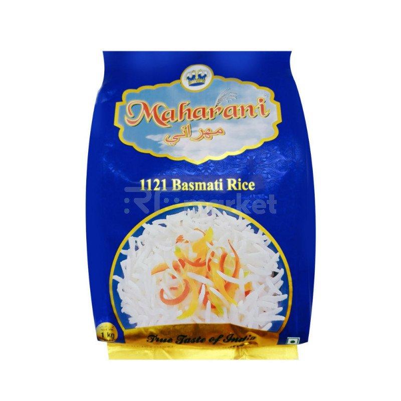Рис пропаренный Басмати Maharani, 1 кг