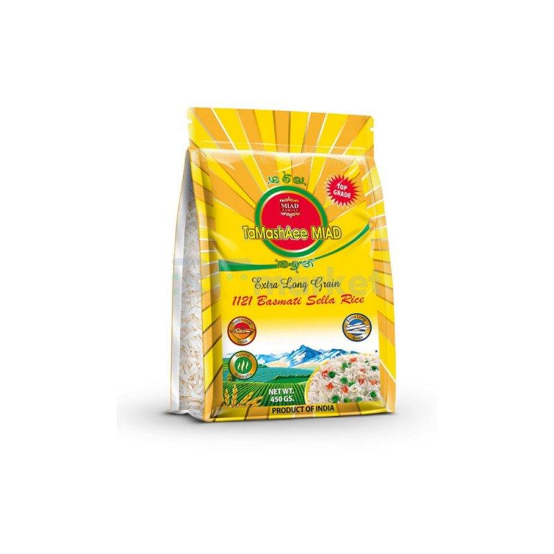 Рис экстра Басмати пропаренный TaMashAee Miad, 450 г.