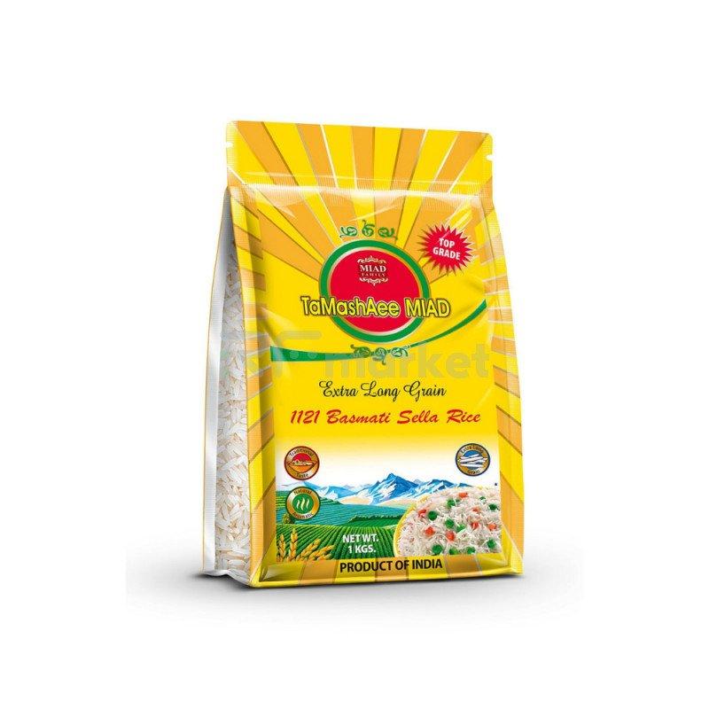 Рис экстра Басмати пропаренный TaMashAee Miad, 1 кг