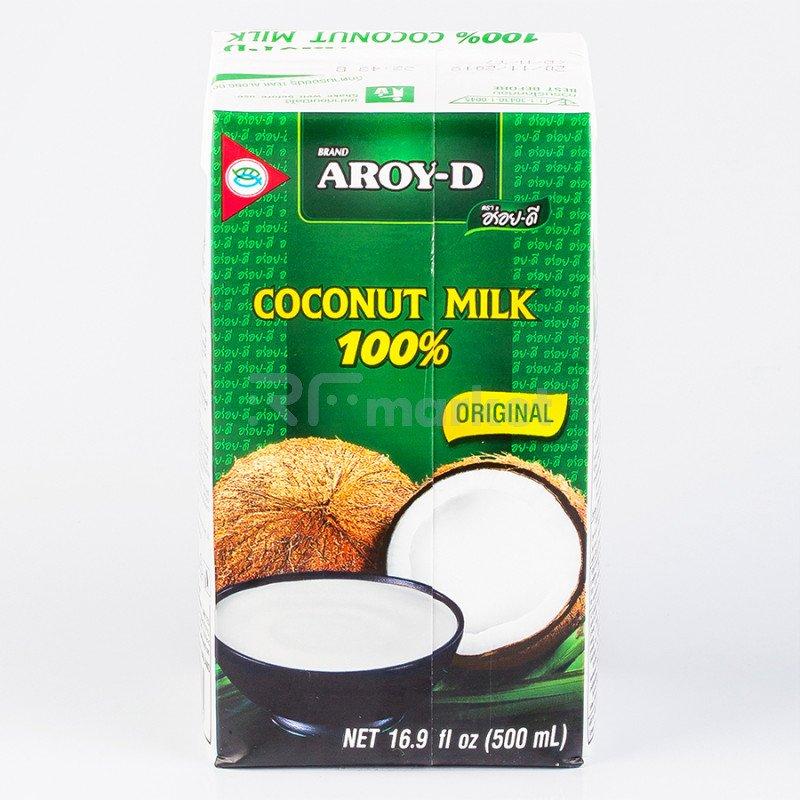 """Кокосовое молоко """"AROY-D"""" 70%, 500 мл (Tetra Pak)(жирность 17-19%)"""