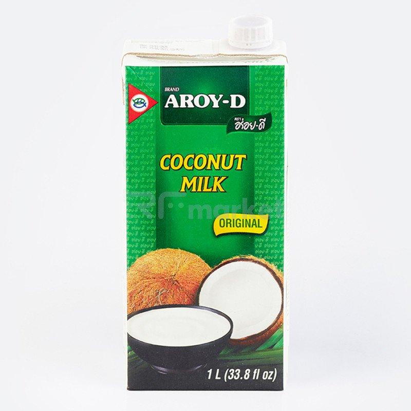 """Кокосовое молоко """"AROY-D"""" 70%, 1л (Tetra Pak)(жирность 17-19%)"""