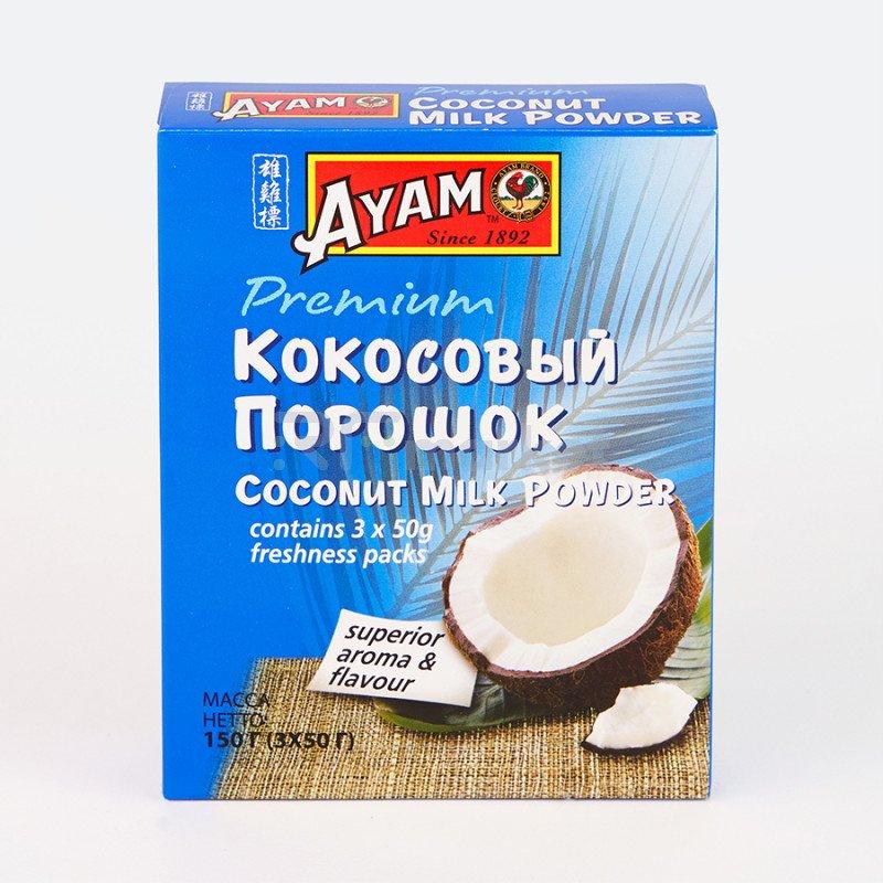 Сухое кокосовое молоко 150г (50г *3), картонная упаковка