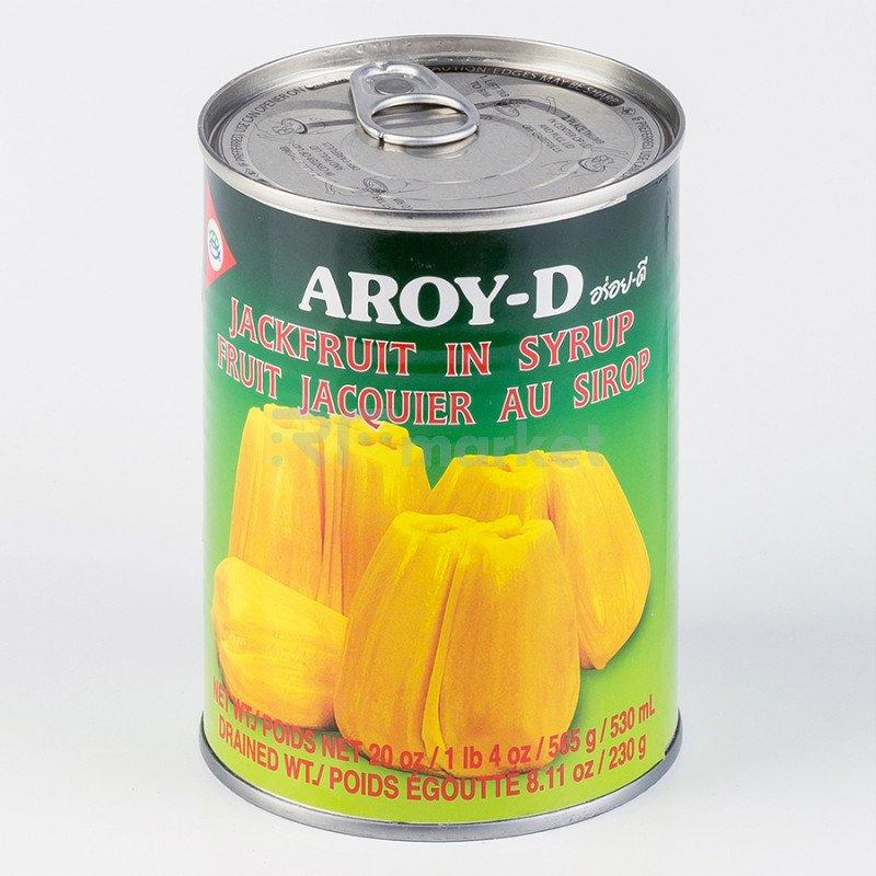 """Джекфрут в сиропе """"AROY-D"""" 0,565 кг, ж/б"""