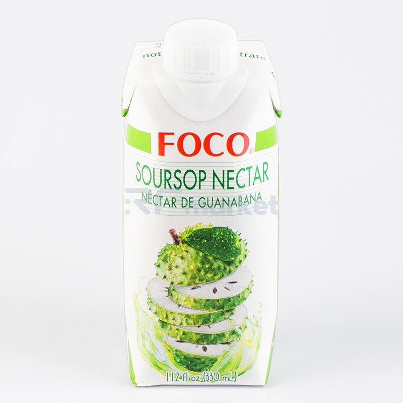 """Нектар гуанабаны """"FOCO"""" 330 мл Tetra pak"""