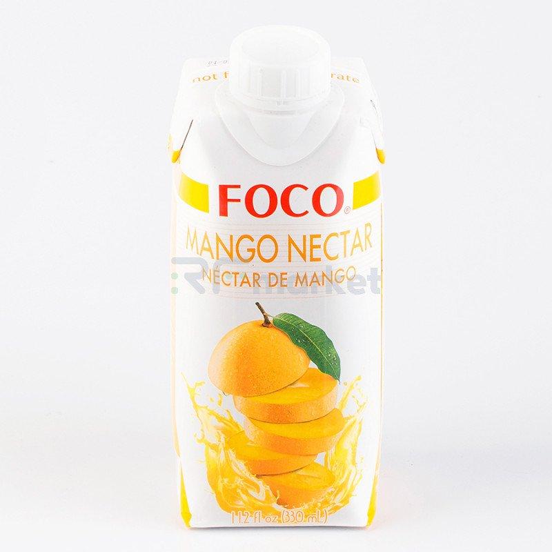 "Нектар манго ""FOCO"" 330 мл Tetra pak"