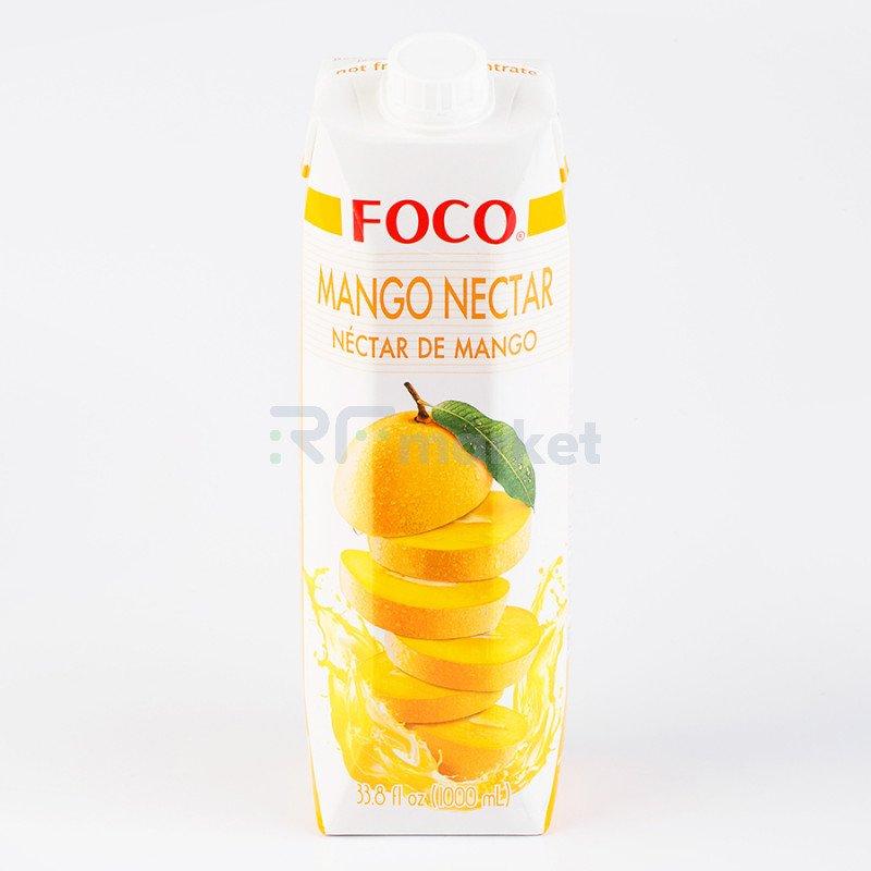 "Нектар манго ""FOCO"" 1 л Tetra pak"