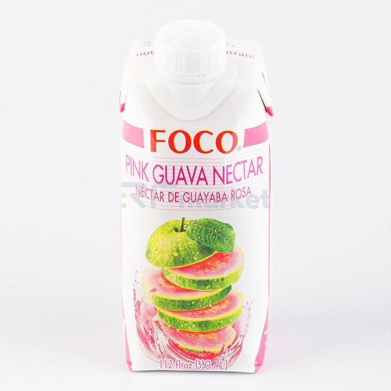 """Нектар розовой гуавы """"FOCO"""" 330 мл Tetra pak"""