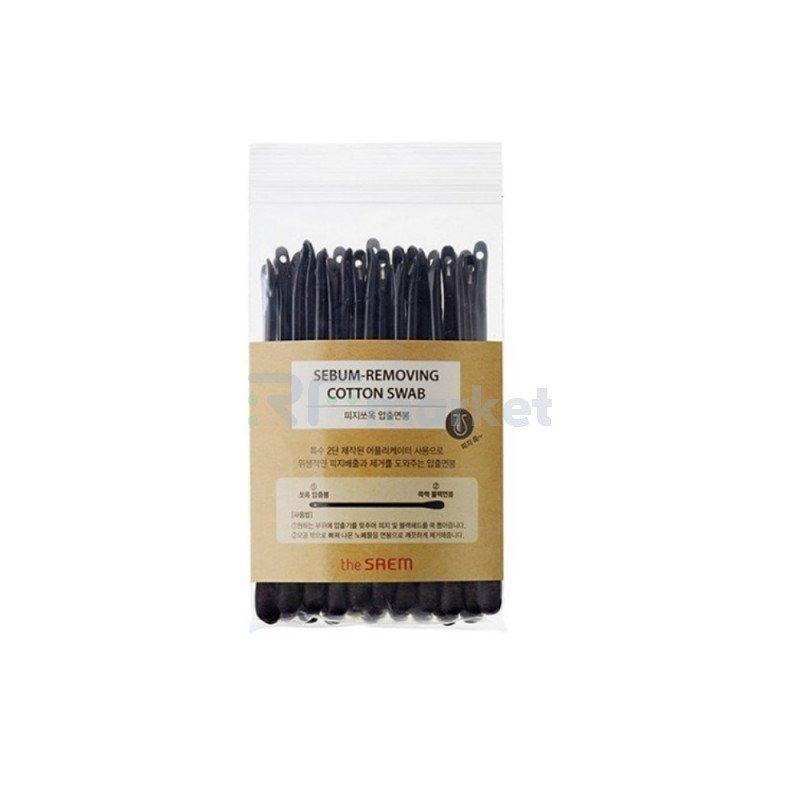 Ватные палочки набор для очистки пор. Sebum-Removing Cotton Swab 2*20 шт.«THE SAEM INTERNATIONAL CO.LTD.»