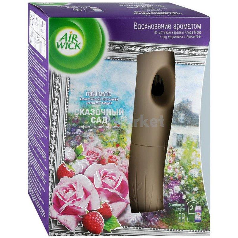 Освежитель воздуха Air Wick Freshmatic автоматический со сменным баллоном Сказочный сад 250 мл