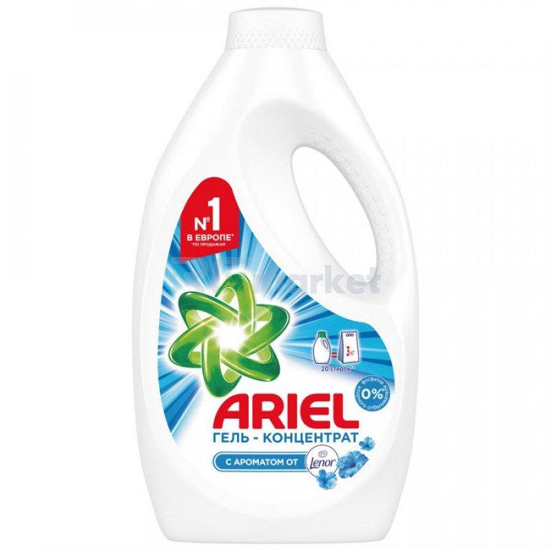 Гель для стирки Ariel Touch of Lenor fresh 1.3 л