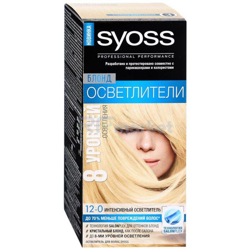 Краска для волос Syoss Color 12-0 Интенсивный осветлитель 115 +20г