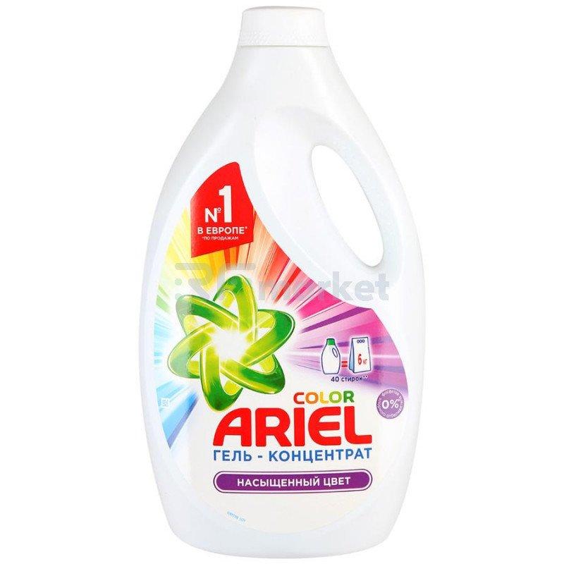 Гель для стирки Ariel Color жидкий 2.6 л