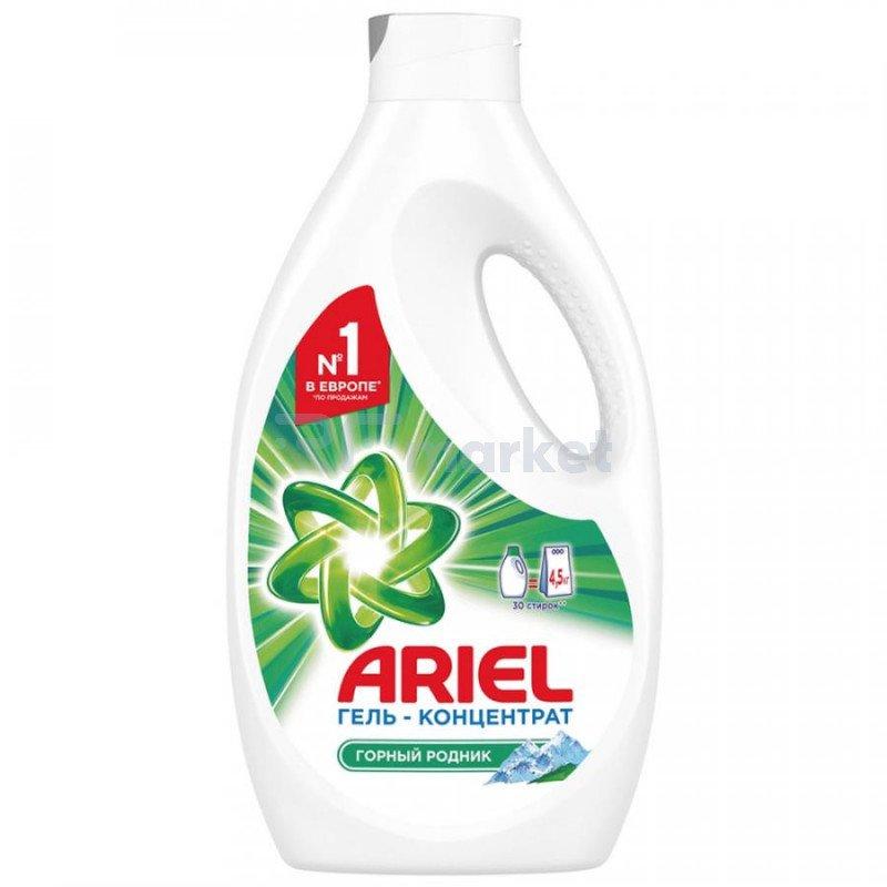 Гель для стирки Ariel жидкий горный родник 1.95 л