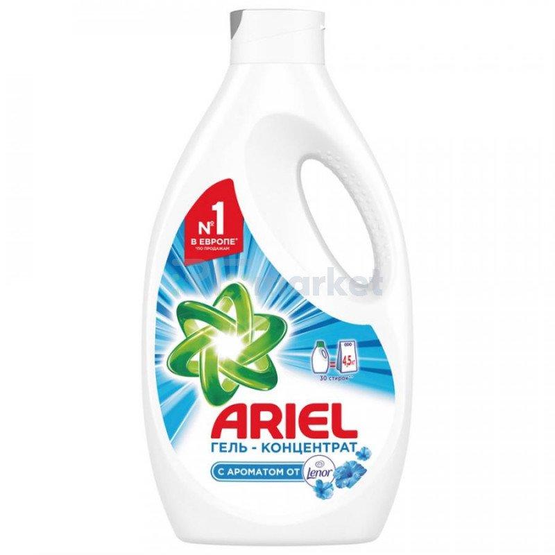 Гель для стирки Ariel Touch of Lenor Fresh жидкий 1.95 л