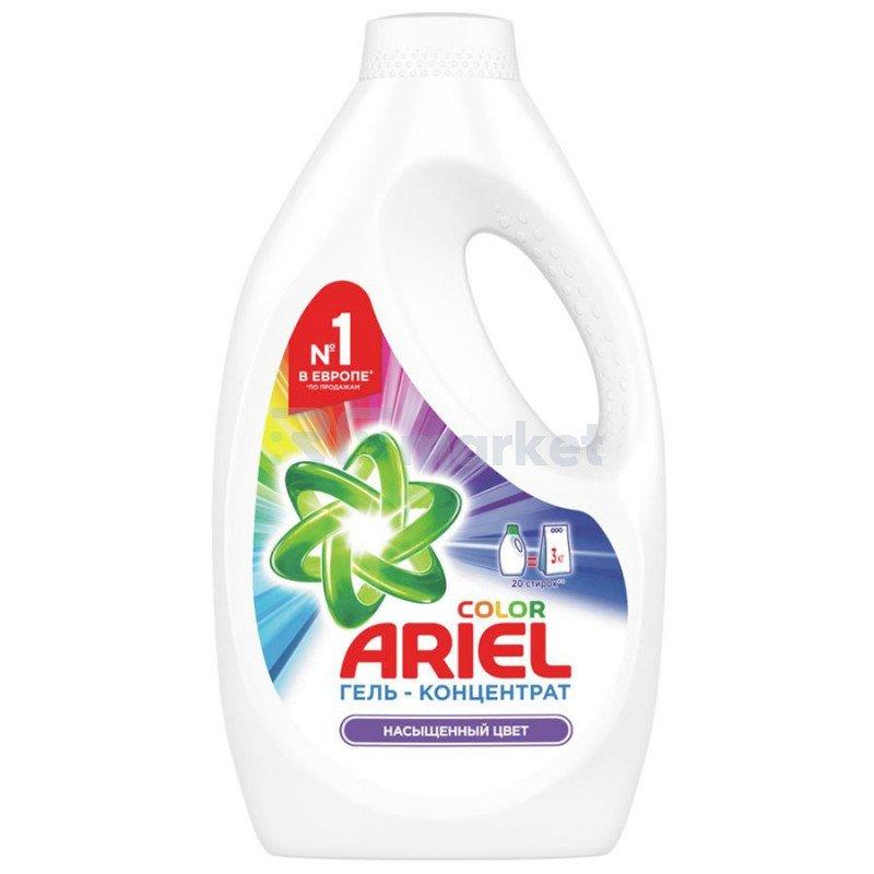 Гель для стирки Ariel Color Насыщенный цвет концентрат 1.3 л