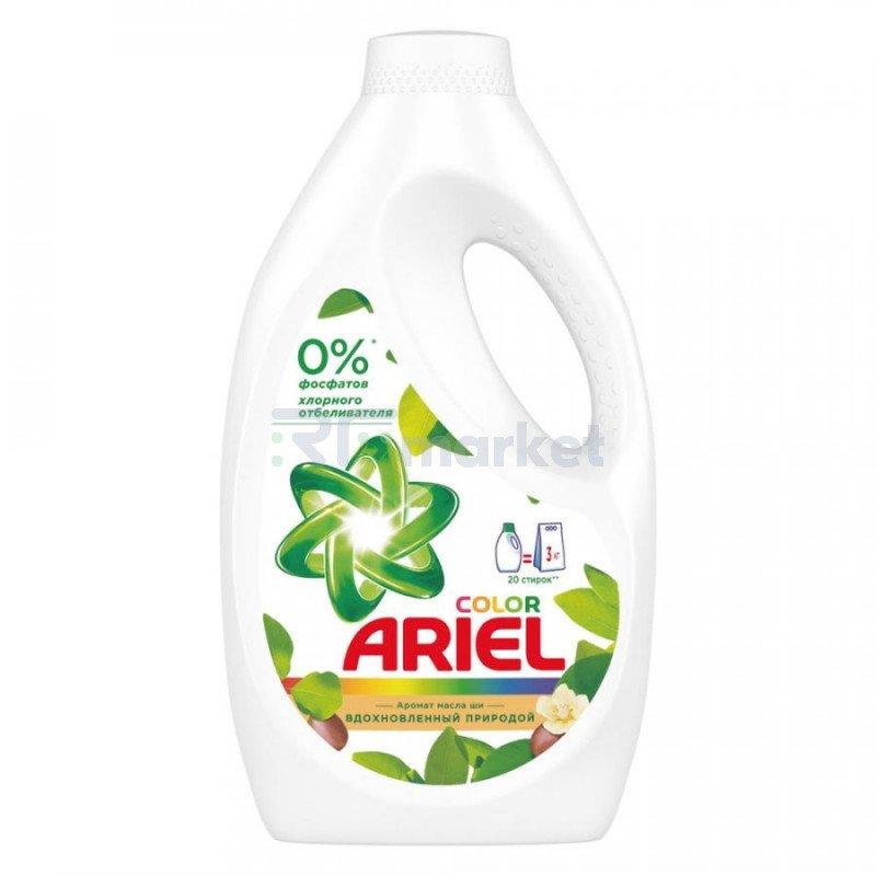 Гель для стирки Ariel жидкий с ароматом масла ши 1.3 л