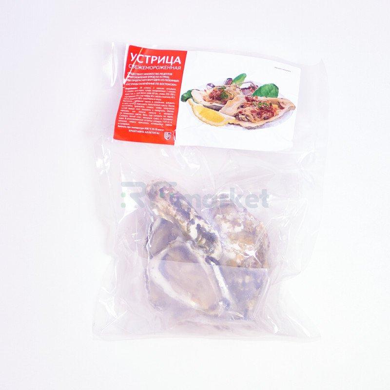 Устрицы Тихоокеанские, свежемороженые, 500 гр