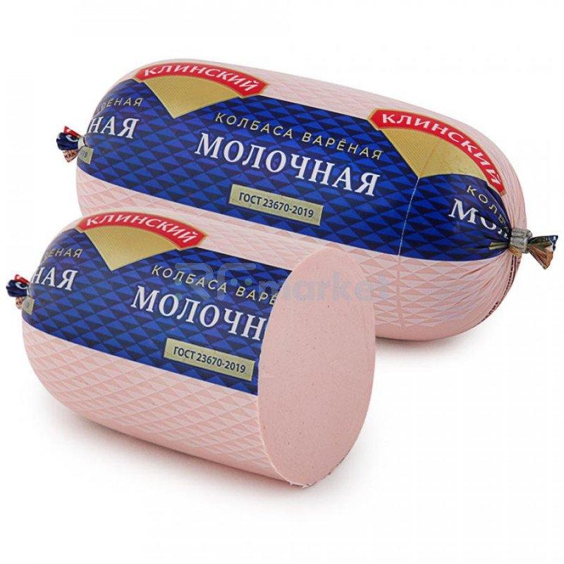Колбаса вареная Клинский Молочная 500г