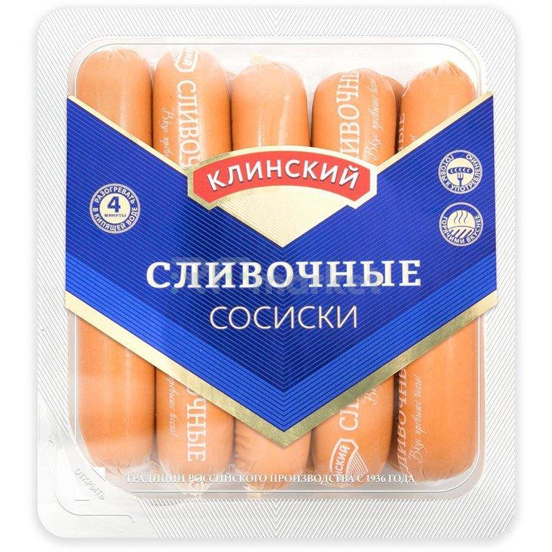 Клинский МК Сосиски Сливочные, 470 г