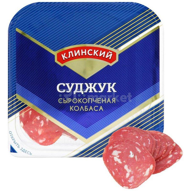 Колбаса Клинский МК Суджук сырокопченая полусухая, 80г