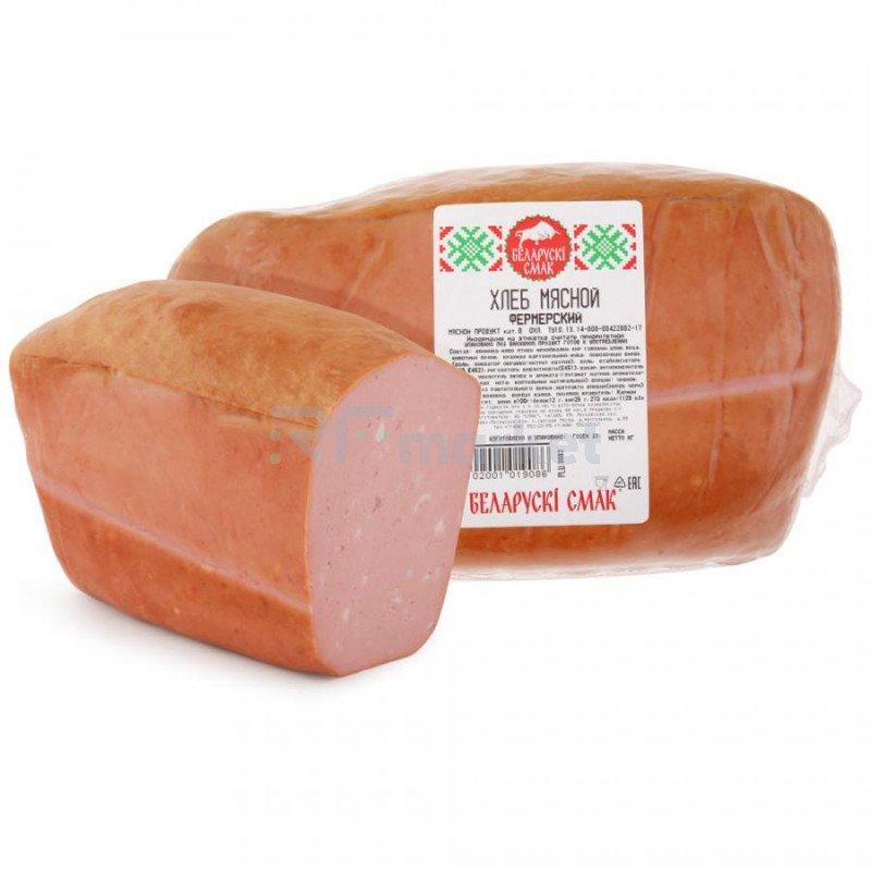 Хлеб мясной Беларускi Смак Фермерский, 1,5 кг