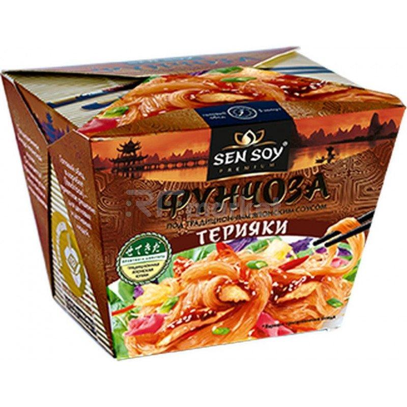 Фунчоза под Японским соусом Терияки Sen Soy, 125г