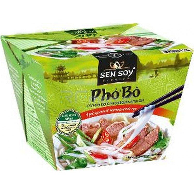 "Рисовая лапша суп ""Pho Bo"" Sen Soy, 125г"