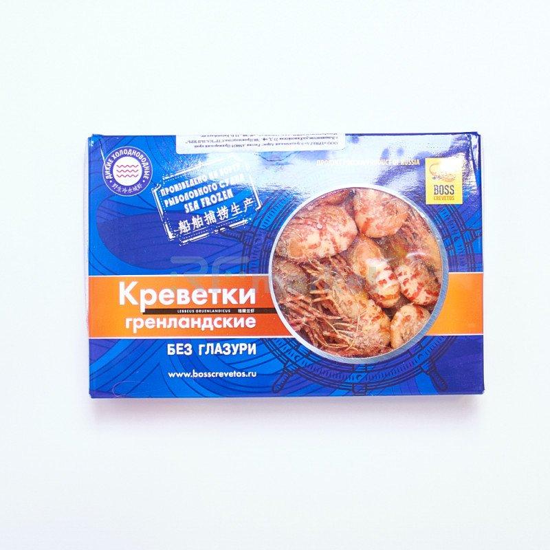 Креветка гренландская, варёно-мороженая, 1 кг