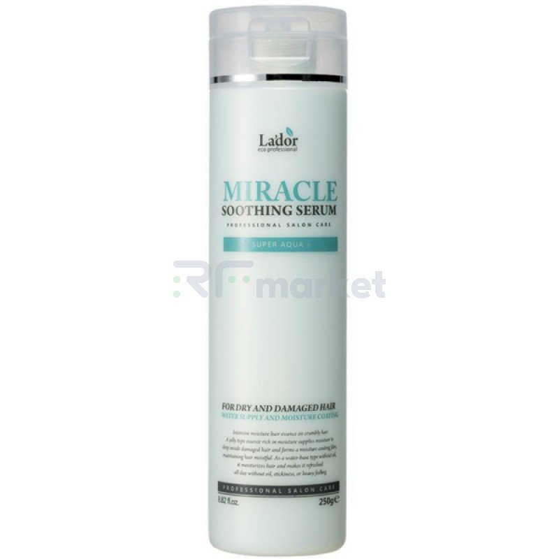 Сыворотка для сухих и поврежденных волос. Miracle Soothing Serum 250 гр.LADOR Co. Ltd.
