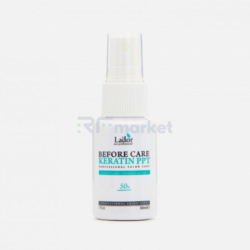 Спрей для волос кератиновый .Before Keratin PPT 30 мл.«LADOR Co. Ltd. .»